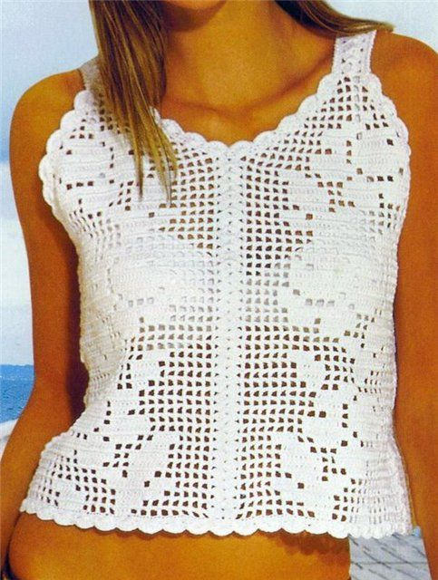 CROCHET: filet | Filet Crochet Patterns | Pinterest | Blusas, Blusas ...