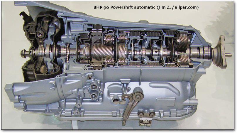 8hp 90 Powershift Automatic Transmission Chrysler Cars