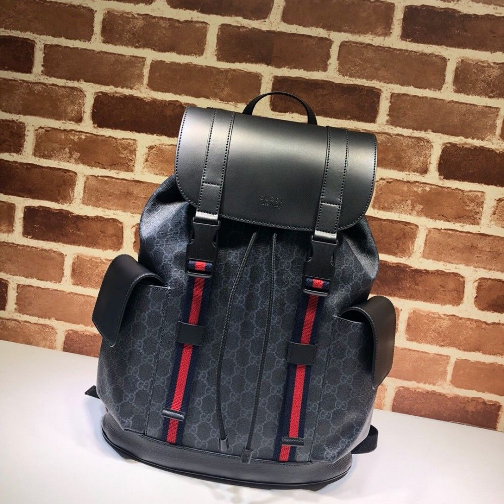 6128d870acf5 Gucci Soft GG Supreme backpack 495563