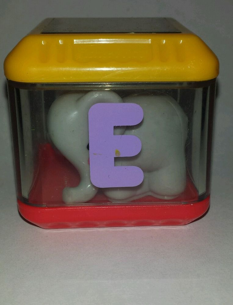 Fisher Price Peek A Blocks Letter E Elephant Alphabet Replacement