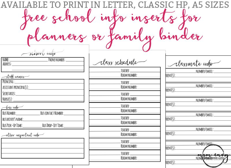 graphic about Free Printable Home Organization Worksheets known as College Content material Sheet College Planner Printables