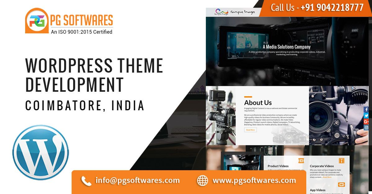 Wordpress Theme Development Company In Coimbatore Websitedesign Design Template Newwebsi Web Design Corporate Web Design Website Template Design