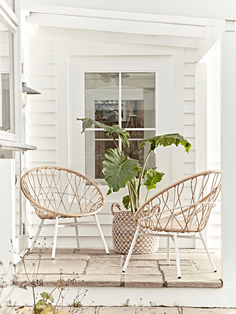 Summer Of Scandi Perfect Pieces For Your Garden Rattan Garden Chairs Garden Chairs Decor