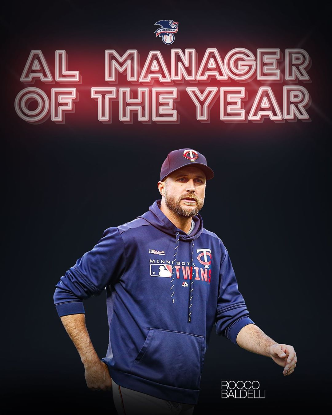 Mlb your al manager of the year rocco baldelli sports