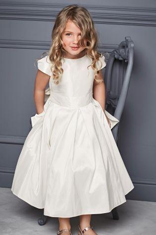 Buy ivory premium silk bridesmaid dress 3 12yrs online today at buy ivory premium silk bridesmaid dress 3 12yrs online today at next mightylinksfo