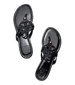 4780cb1c7b9 Black Tory Burch Miller Sandal