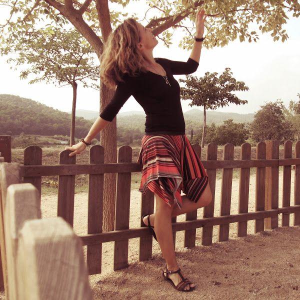 Skirt!! Falda Etoile para el Reto otoño | Aprender manualidades es facilisimo.com