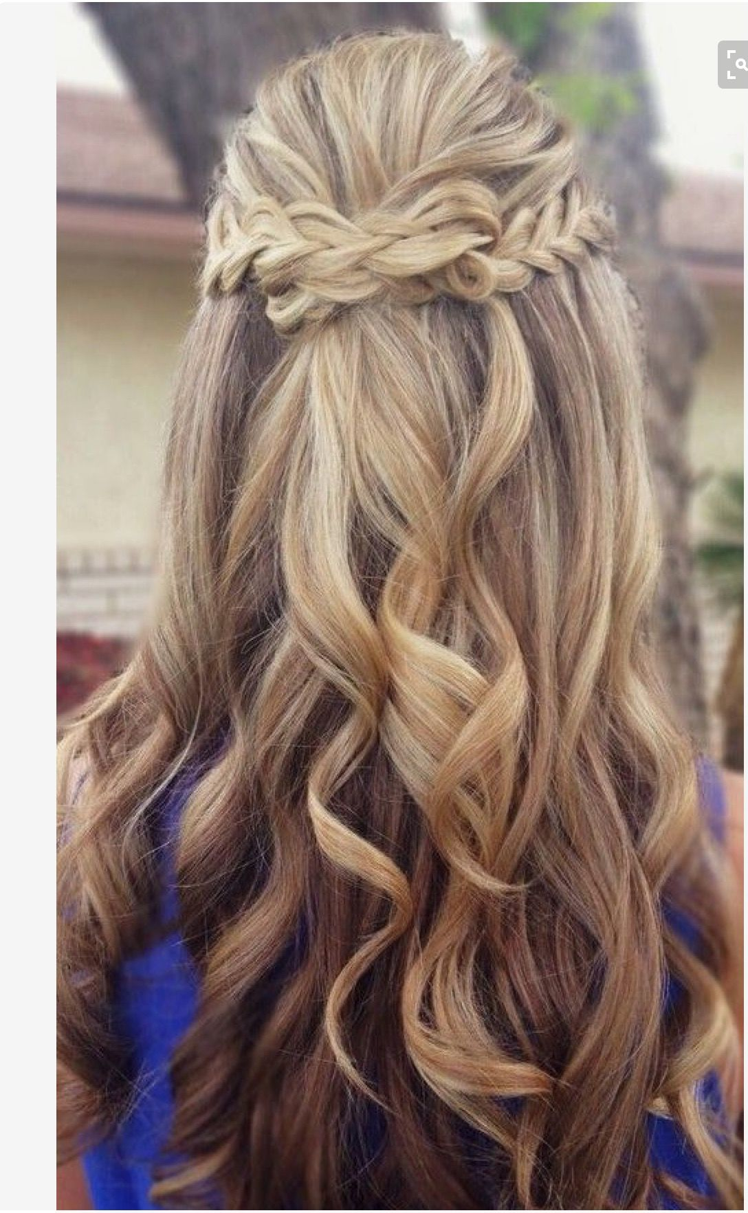 Long Hairstyles With Braids Braided Prom Hair Formsl Hair Pinterest Prom Hair And Prom