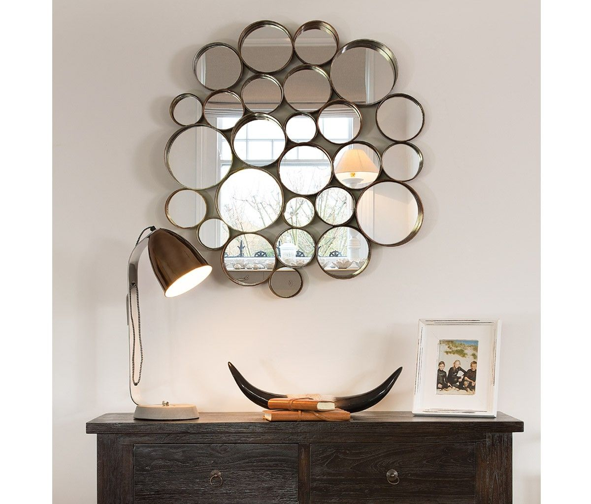Retro Multi Circle Wall Mirror Mirror Gallery Wall