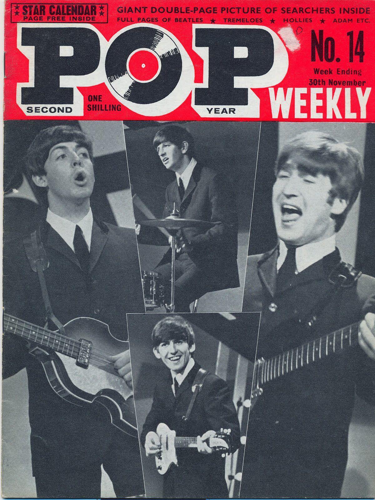 Pop Weekly, November 30, 1963 — The Beatles
