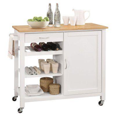 Acme Furniture Ottawa Portable Kitchen Island Cart - 98315 ...
