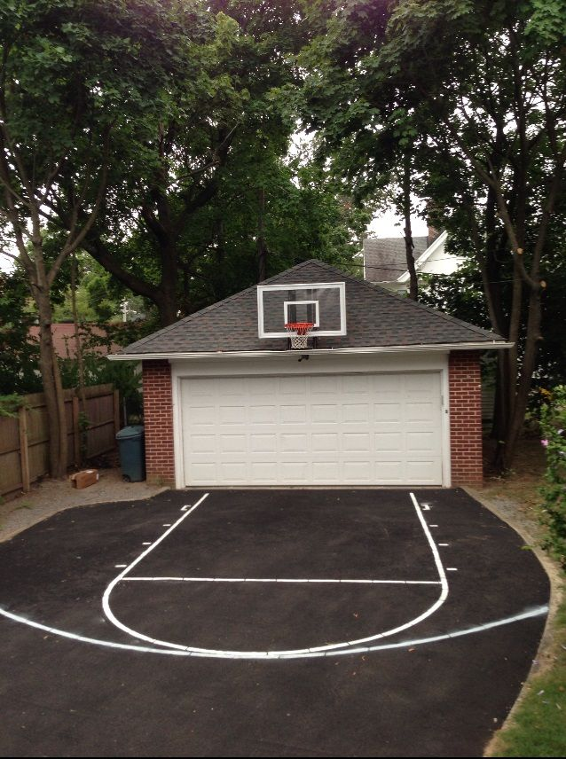You can really take any shaped area and turn it into a for How wide is a basketball court