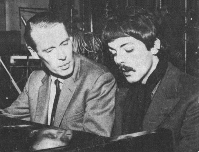 Paul works with George Martin, When I'm 64 sessions, Sgt Pepper, 1967