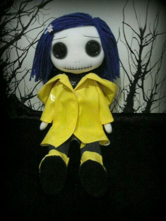 Coraline Coraline Doll Monster Dolls Creepy Dolls