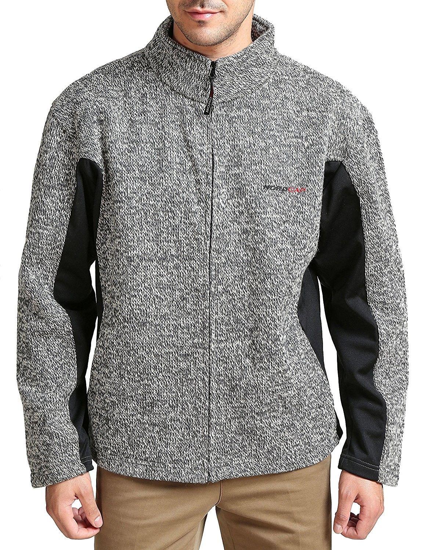Menus ascender softshell fleece jacket grey cdmrndt in