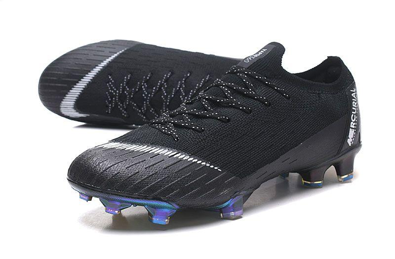 20e69d80c95 Nike Mercurial Vapor XII Elite FG Firm Ground Cleats - Black White ...