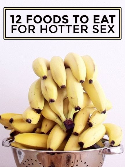 Good foods for sex