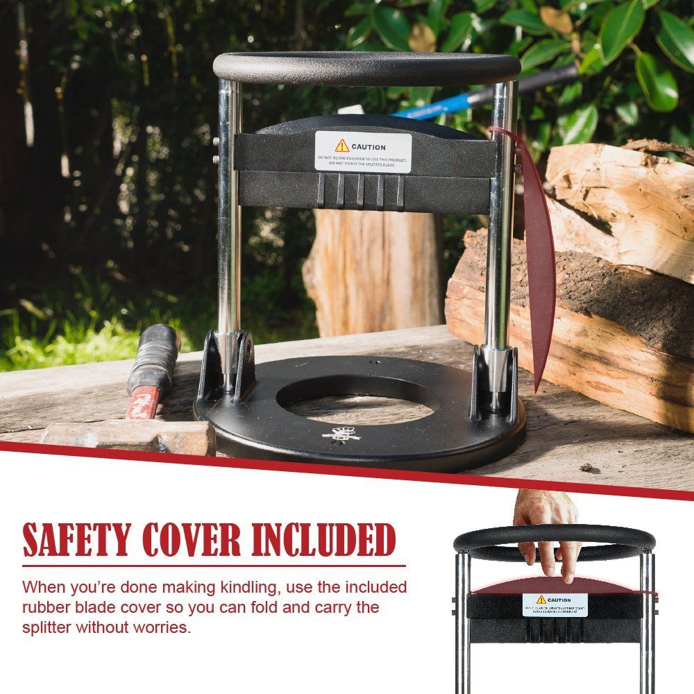 WEN 56207 6.5Ton Electric Log Splitter with Stand