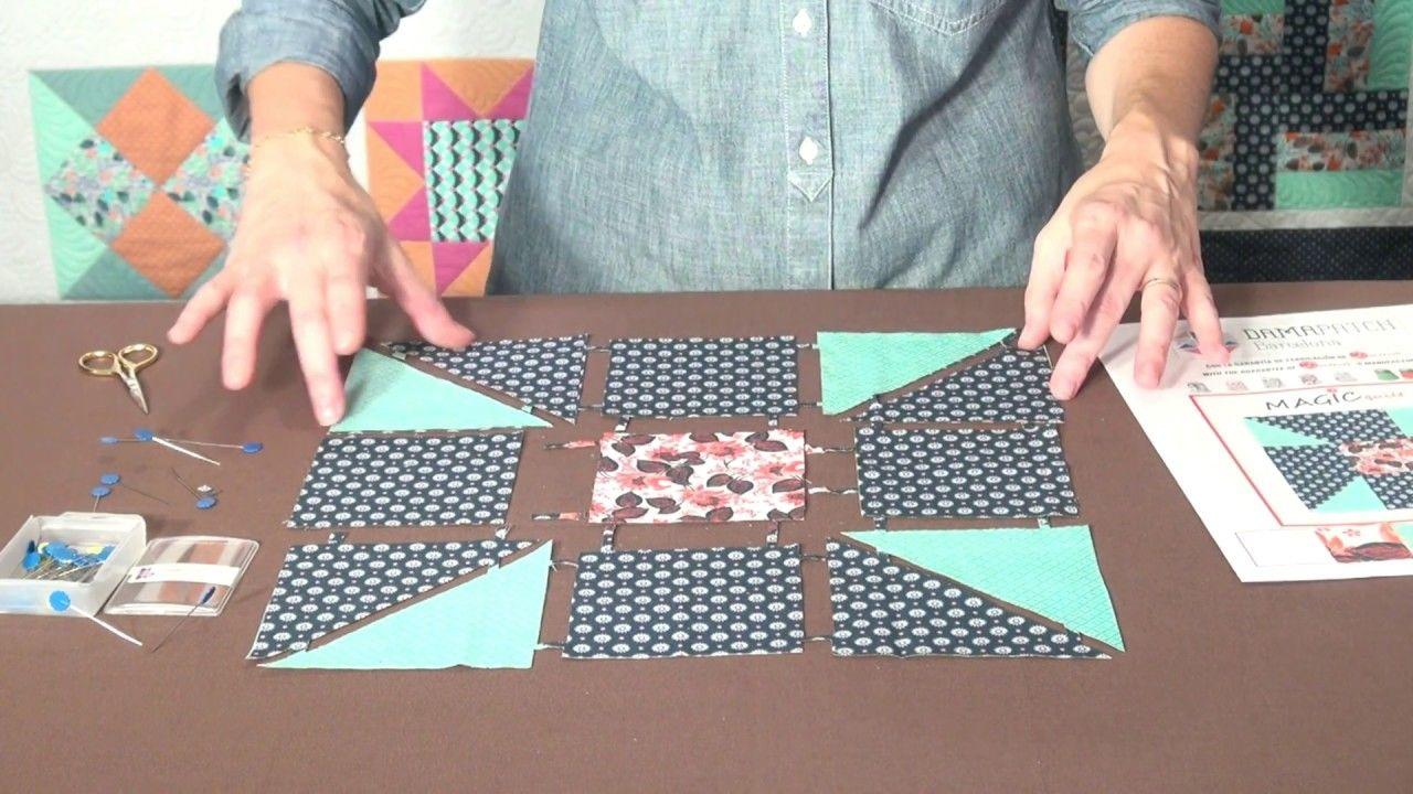Patchwork Magic Quilt Espanol Colchas Sencillas Manualidades