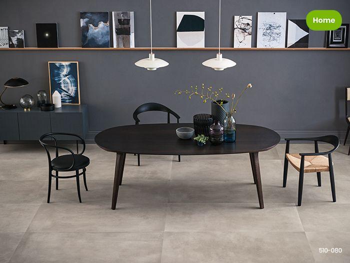 Grijze Tegels Woonkamer : Inspiratie moderne woonkamer met grijze betonlook tegels jan