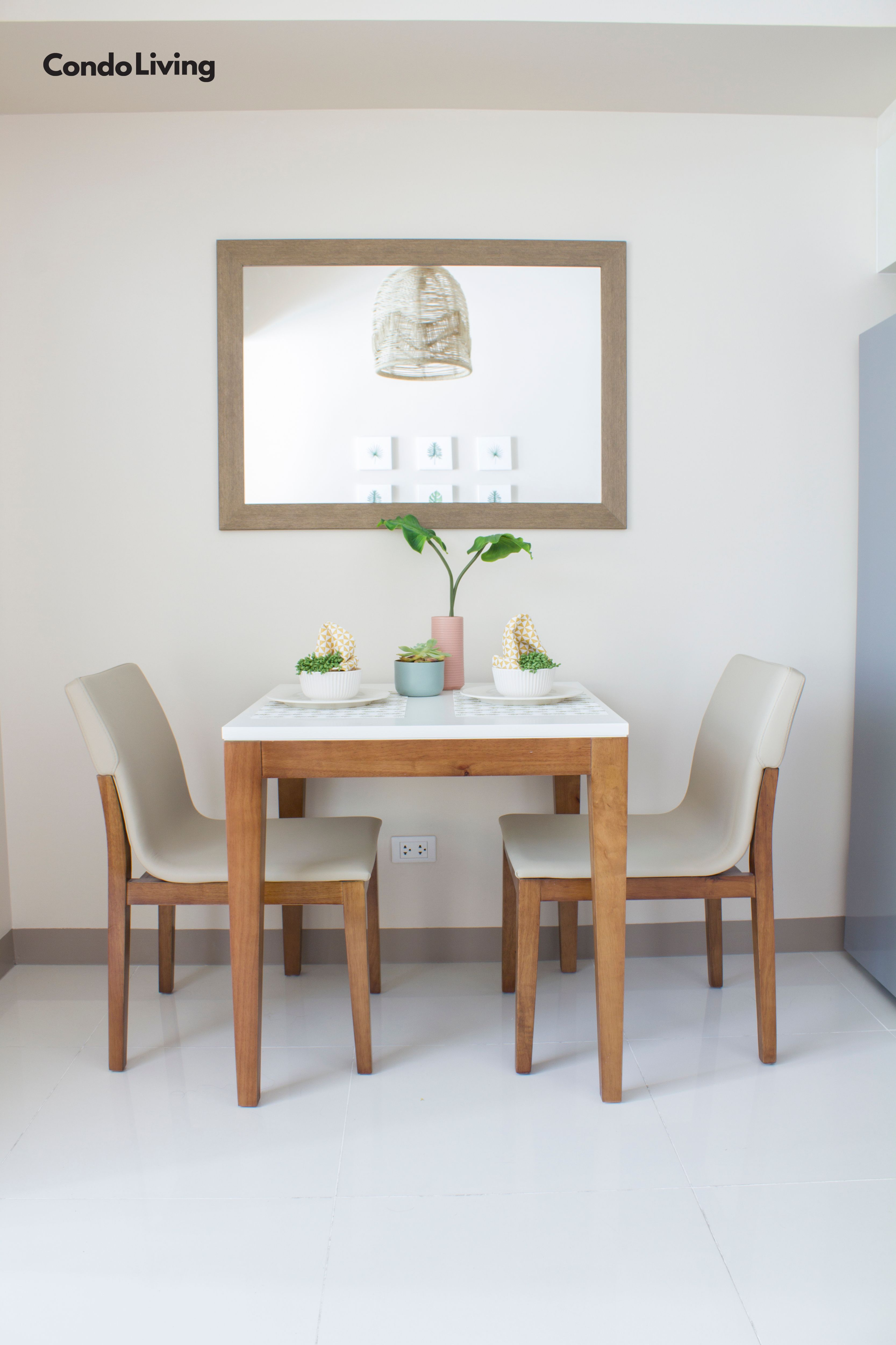A Tropical 33 3 Sqm Rental Unit Dressed Up With A Budget Of P100