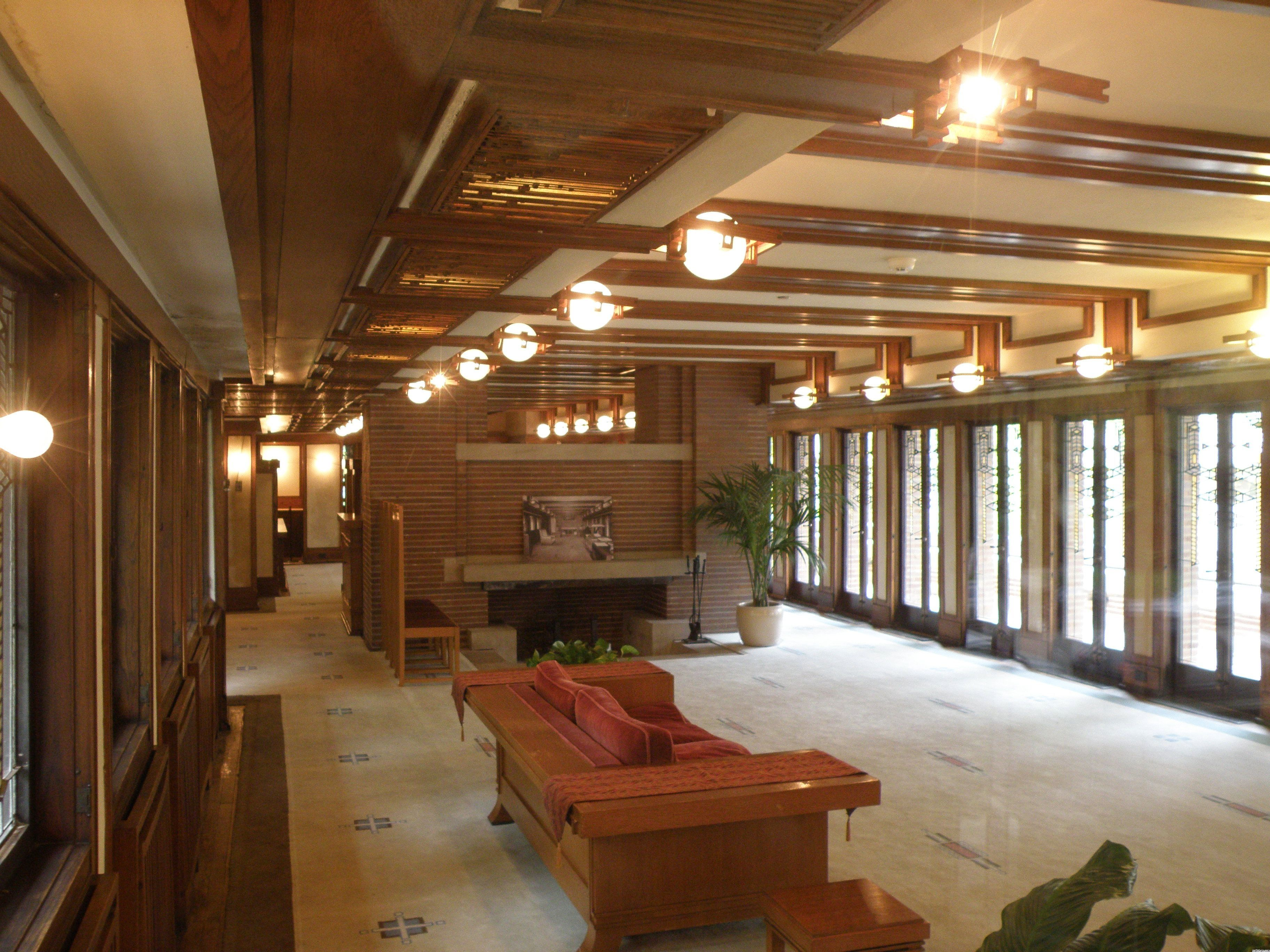 Robie house interior restoration project