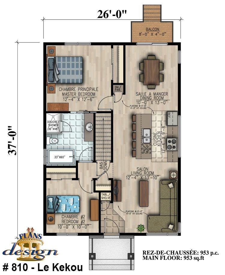 Simulation Plan Maison. Cool Maison Ossature Bois De Plainpied M
