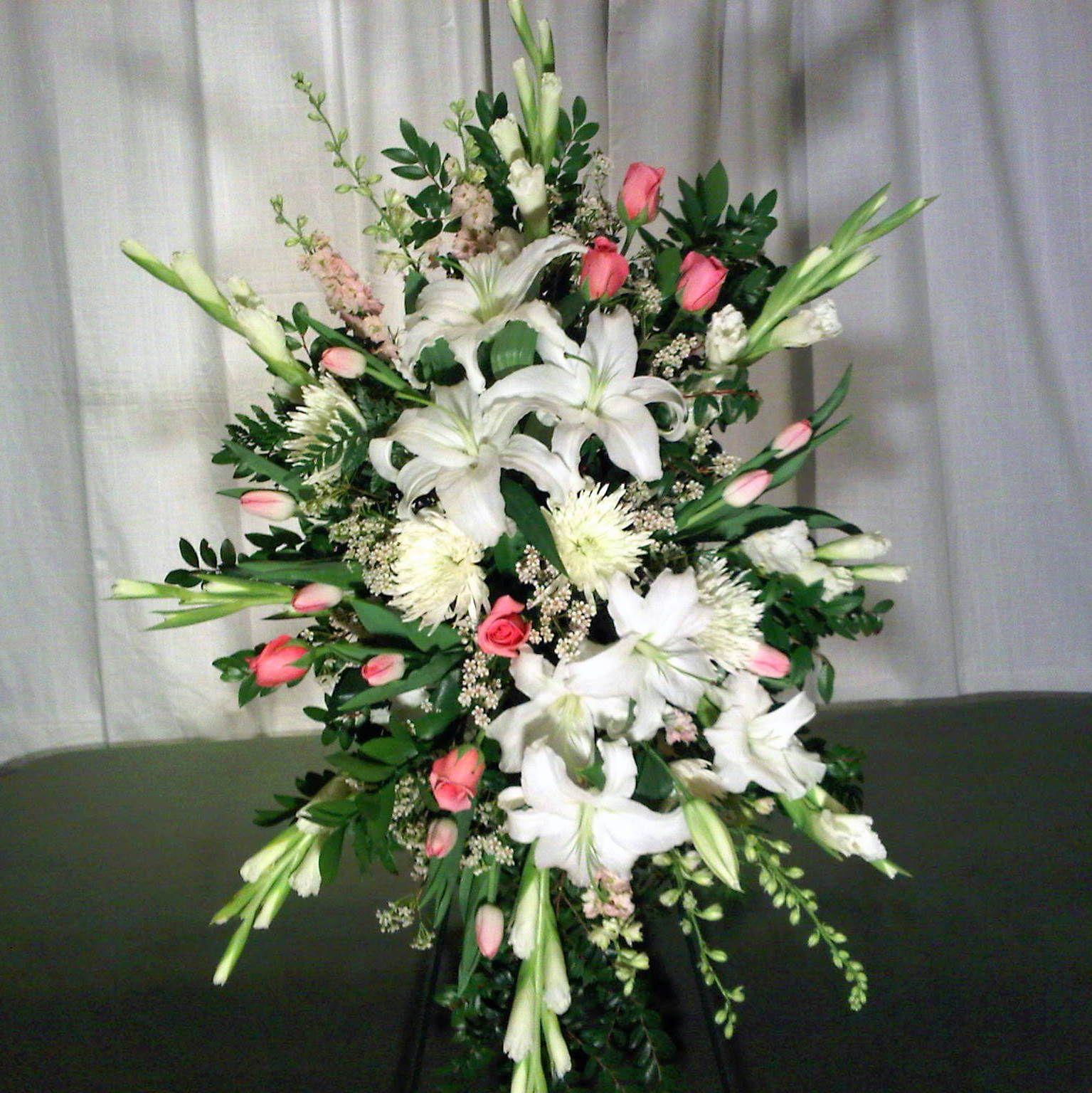 Flower Arrangements Premium Standing Spray 150 Includes 1