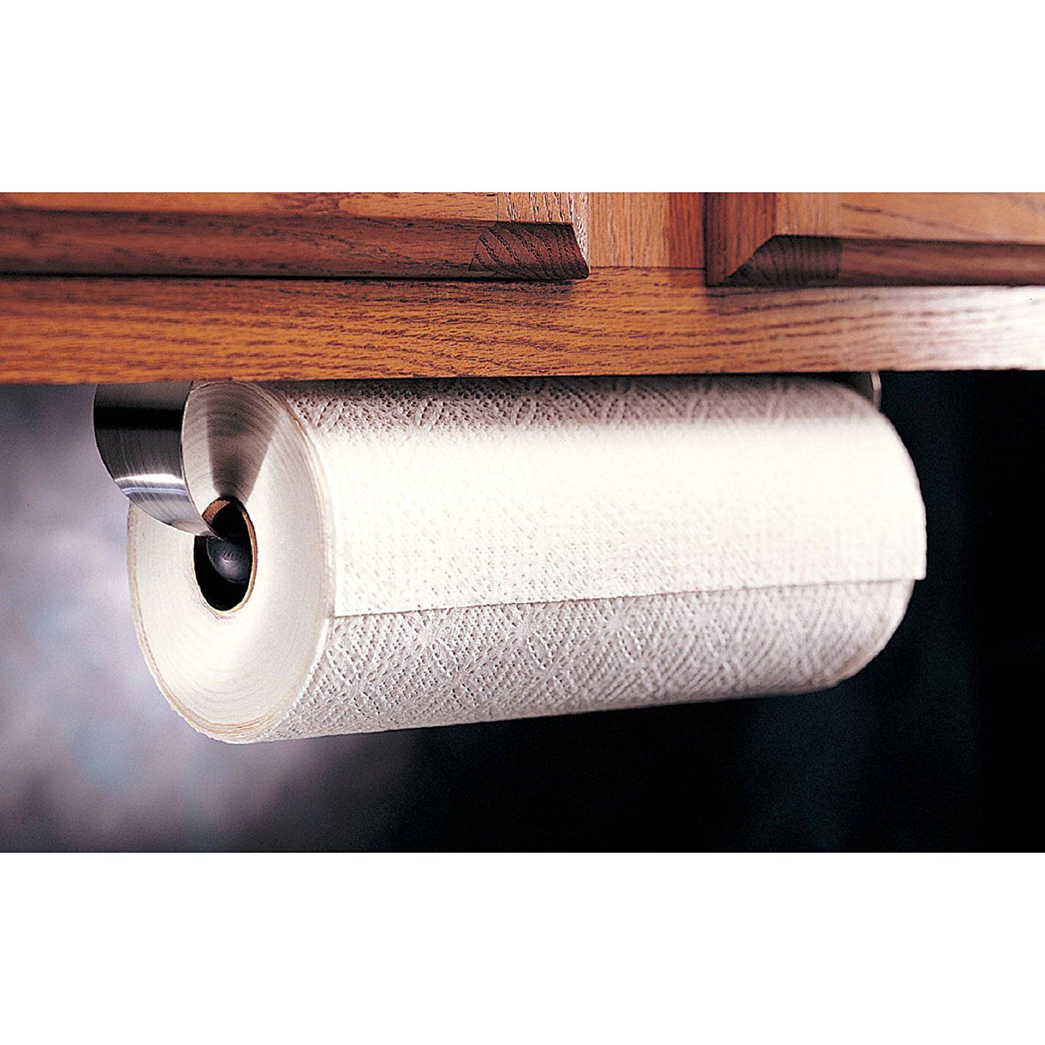 Under The Cabinet Paper Towel Holder Alluring Amazon Prodyne M913 Stainless Steel Under Cabinet Paper Towel Design Ideas