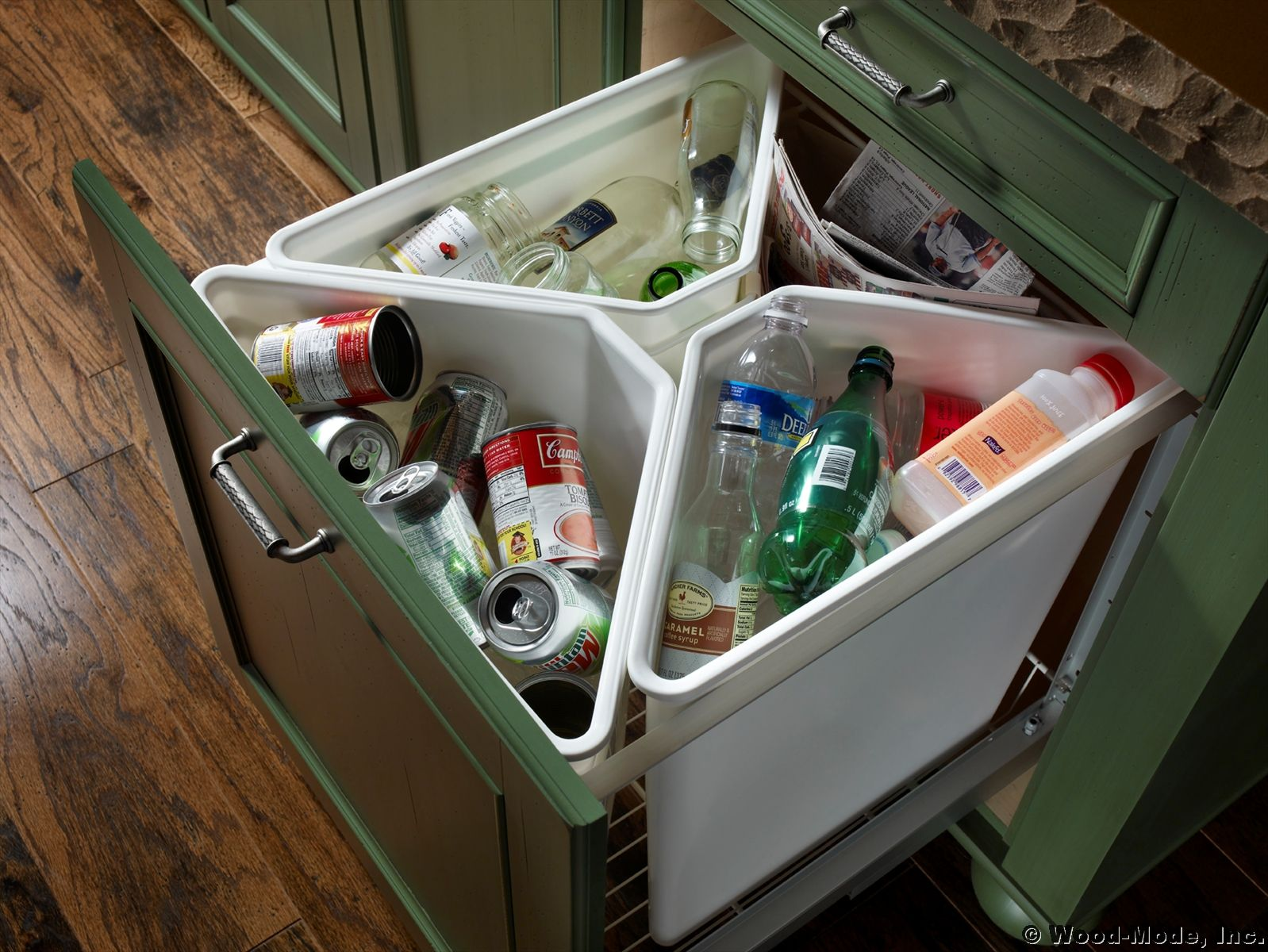 recycling center in kitchen space saving kitchen kitchen storage hacks kitchen storage solutions on kitchen organization recycling id=27665