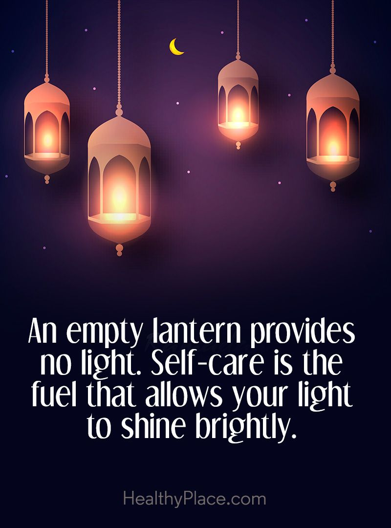 Quote on mental health: An empty lantern provides no light. Self ... for Sky Lanterns Quotes  10lpwja