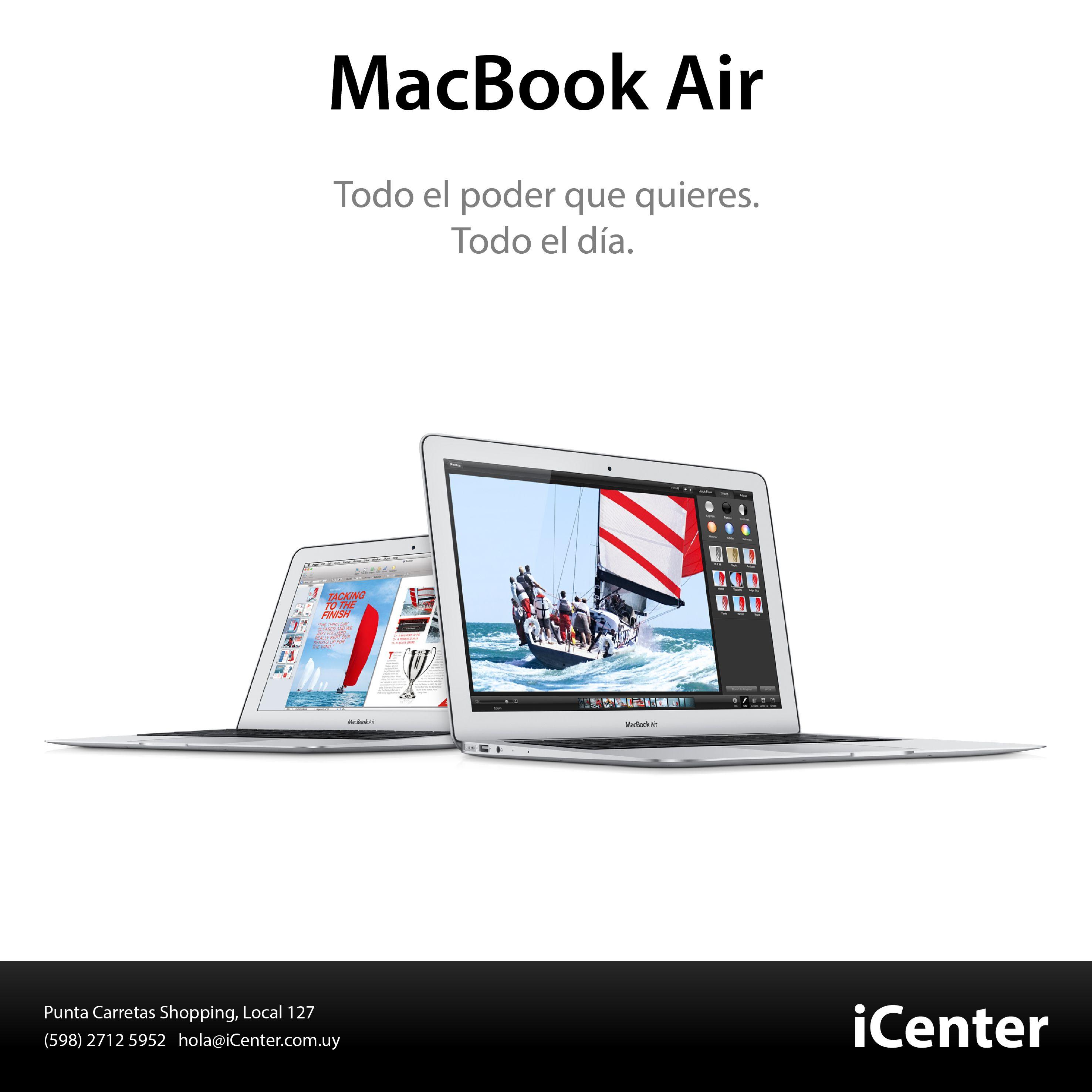 La MacBook Air ahora tiene todo para un desempeño único