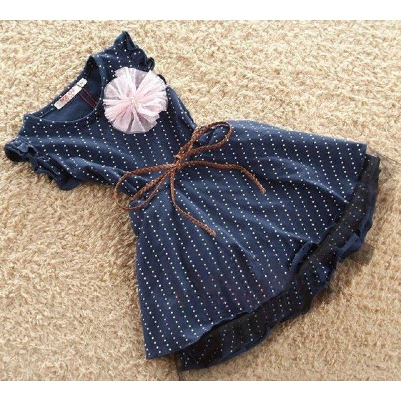 7626d122e vestido infantil