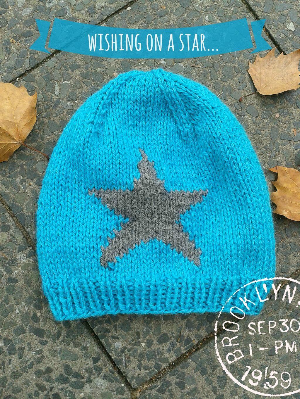 Die Mütze mit dem Stern stricken | Mütze mit stern, Der stern und Mütze