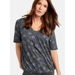 Photo of 1/2 Arm Shirt mit Burnout Look Blue Gerry WeberGerry Weber