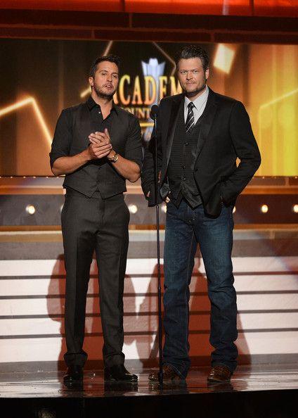 Blake Shelton and Luke Bryan