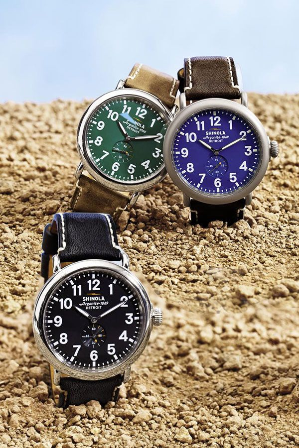 Cool luxury watches from Shinola Detroit