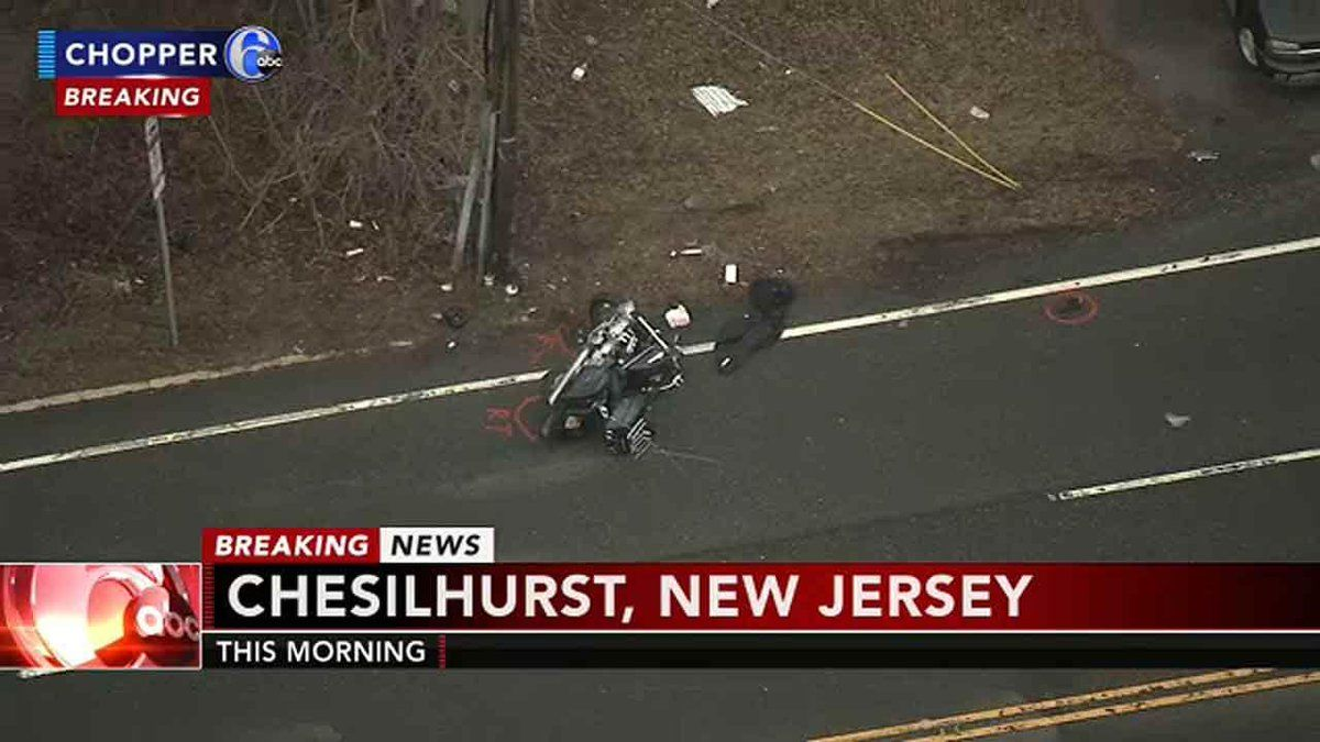 Police Are Investigating A Fatal Crash Involving A Motorcycle In Chesilhurst N J It Happened At 6 30 A M Monday On The Wh White Horses Police Investigations