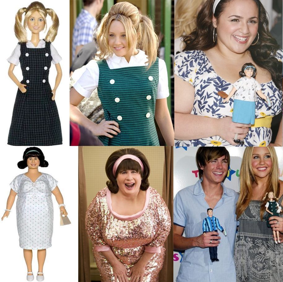 Hairspray John Travolta Edna Turnblad Penny Pingleton Link Larkin Dolls Hairspray Costume Hairspray Movie Hairspray Musical