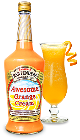 Ready To Drink Premixed Awesome Orange Cream Cocktail Original Bartenders Cocktails Orange Cream Cocktails Favorite Drinks