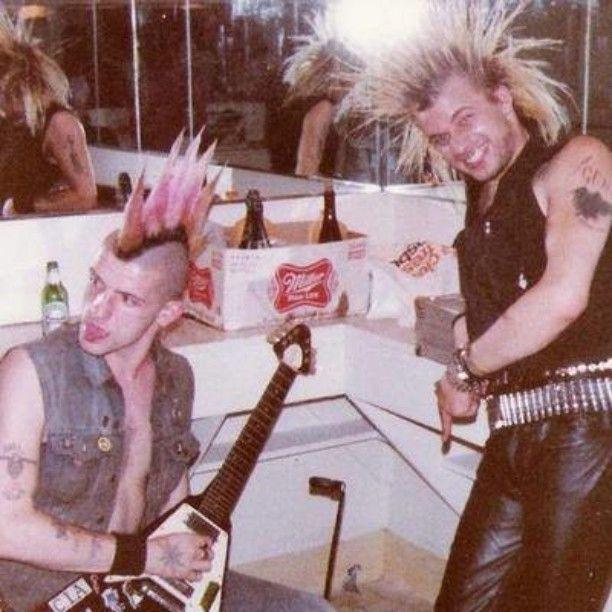 G.B.H. backstage '82