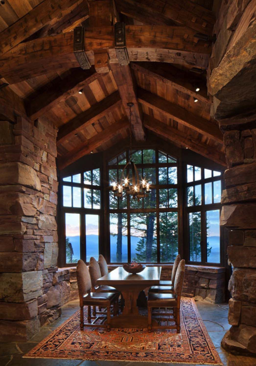 A dreamy Montana mountain retreat: Great Northern Lodge