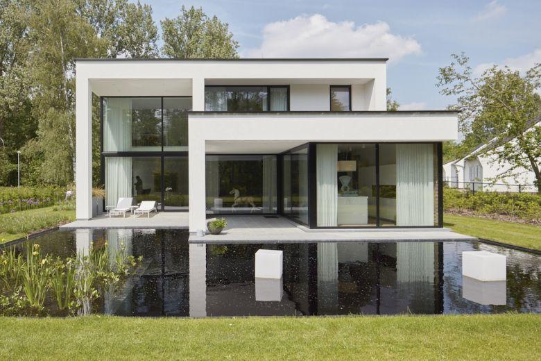 Open woning in Tremelo door Livingwood houtskeletbouw | Architecture ...