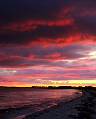 September Sunset At West Dennis Beach, Cape Cod