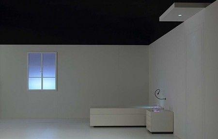 fausse fen tre lumineuse director s room artemide lumiere pinterest fausses fen tres. Black Bedroom Furniture Sets. Home Design Ideas