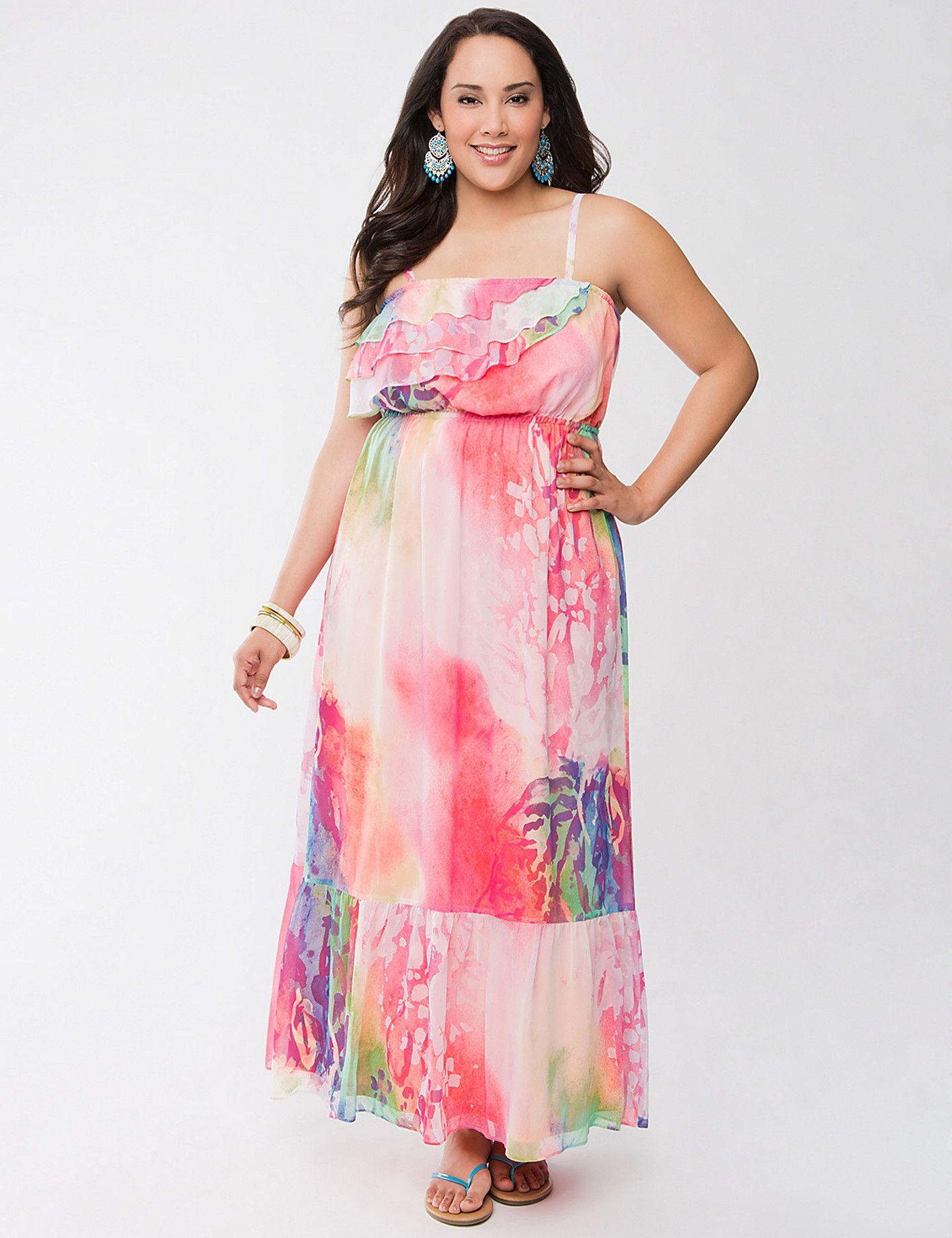 Smocked High Low Dress By Lane Bryant - Lane Bryant