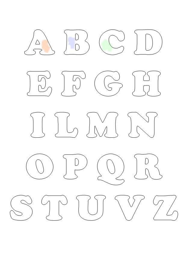 Alfabeto Per Bambini Da Colorare Mondo Fantastico
