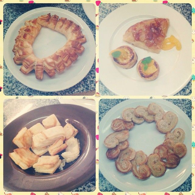 Hojaldre, cremona, tarta tatin, bizcochitos, palmeritas