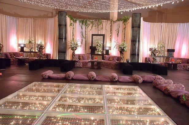 Beautiful Mendhi Set up