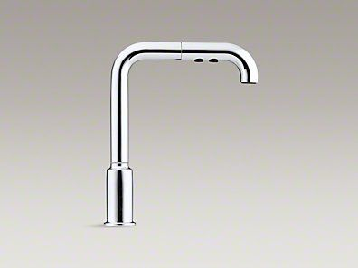 Kohler K 7505 Cp Purist Single Hole Kitchen Sink Faucet With 8